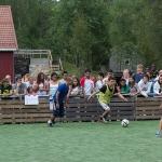 Scorer of the tournament's winning goal - Mario Midence from Honduras - demonstrating his silky skills