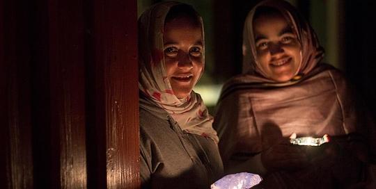 Salma and Jadiyetu from Western Sahara
