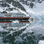 The MV Fram - the ship used to visit the polar regions