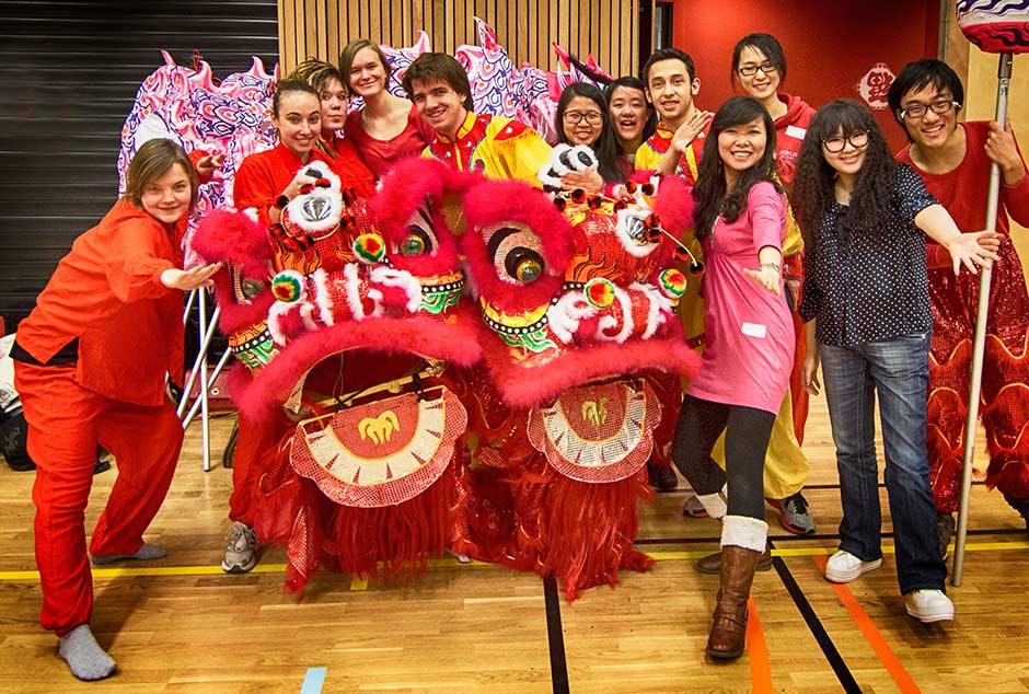 Chinese language and Culture EAC - here in Bergen celebrating the lunar new year
