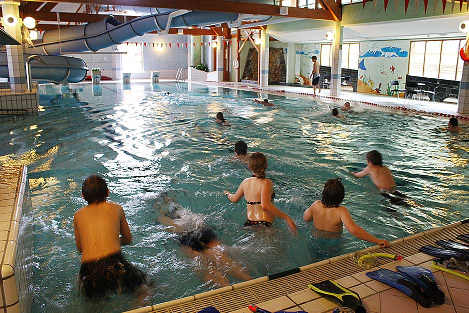 The aquatic centre at the Haugland Centre