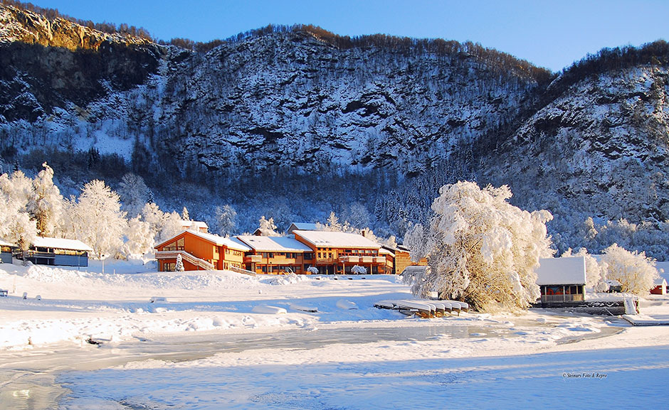 Hauglad Rehabilitation Centre in winter