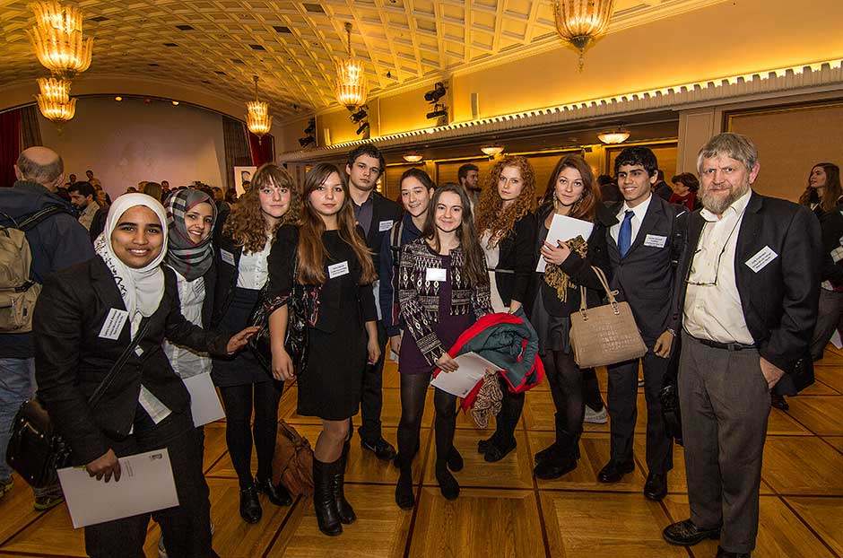 Student group at the Rafto seminar in Bergen
