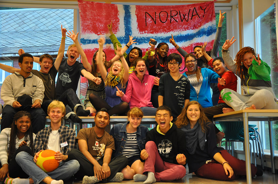 The students of Norway House
