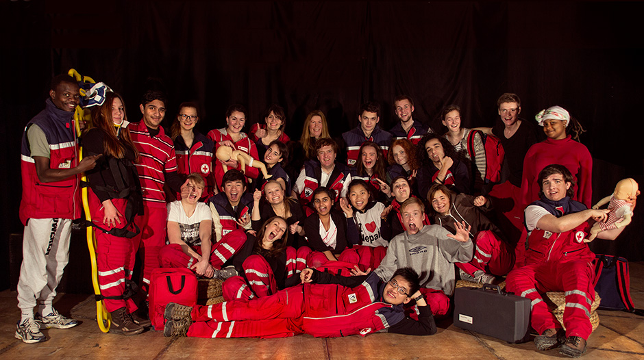 UWC Red Cross Nordic First Aid Team 2013 - 2014