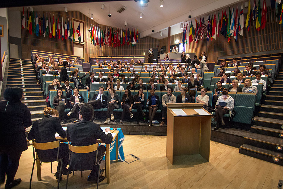 MUN. In the General Assembly
