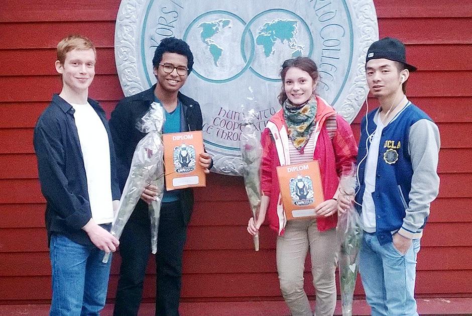 Martin, Eduardo, Dasha and Tenzin