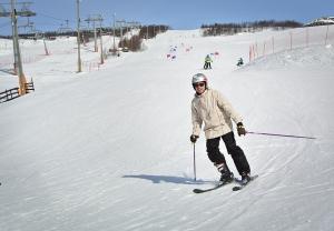 Yeison. Master of the slopes!