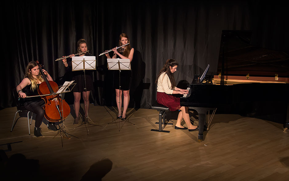Fauré's Sicillienne performed by Aggie, Astrid, Ieva and Christina