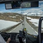 Driving towards 'base camp'