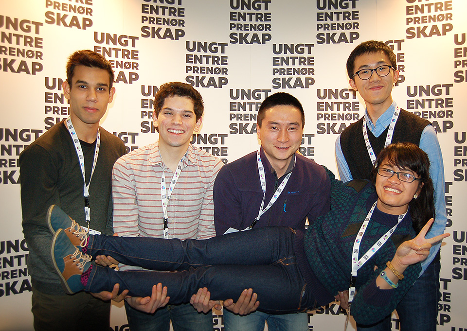 The RCN student team