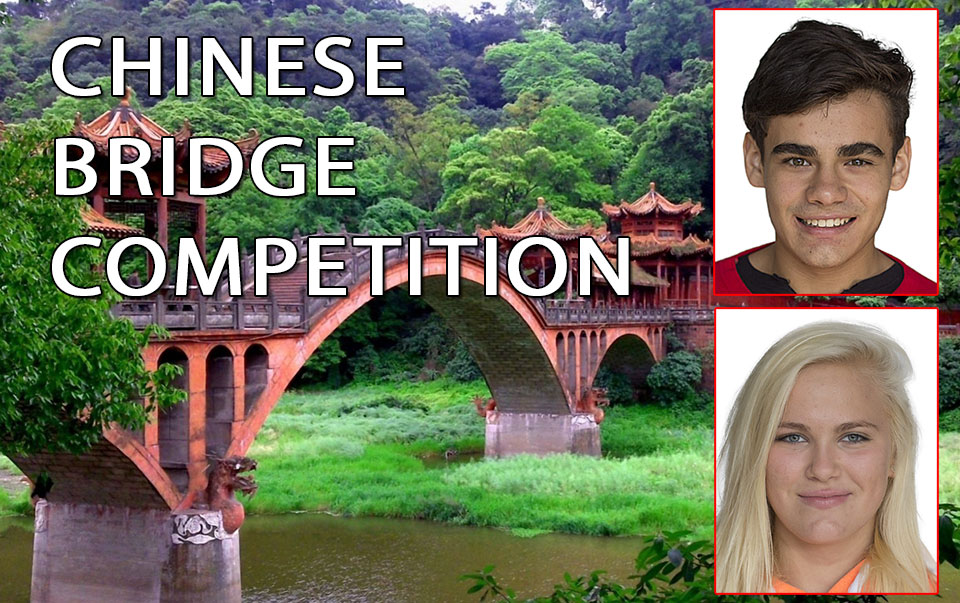 Chinese Bridge Competition winners