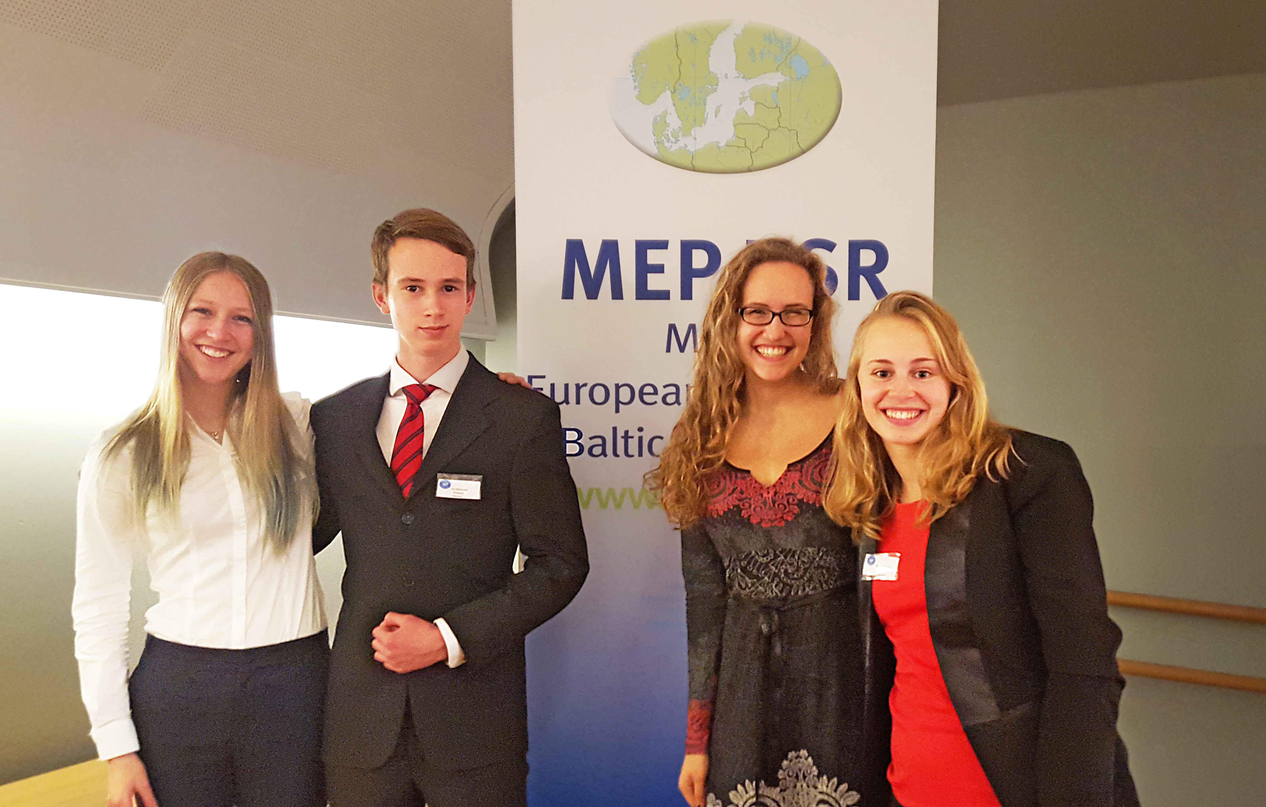 Students at the Model European Parliament Baltic Sea Region, MEP-BSR