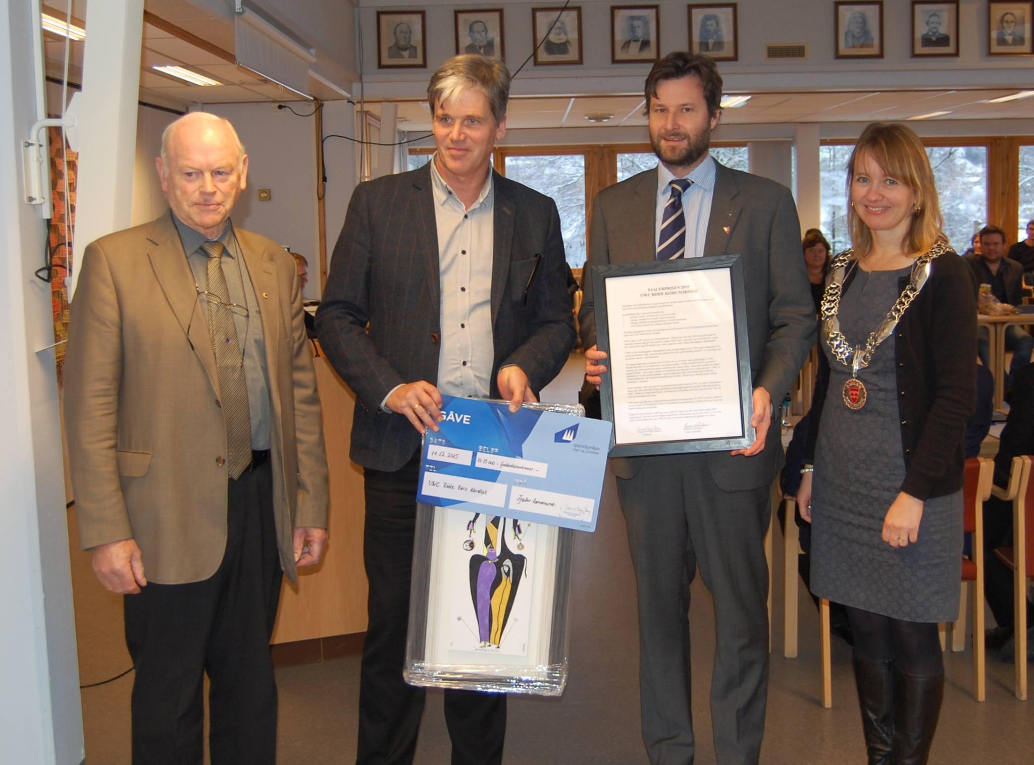 Fjaler Prize 2015