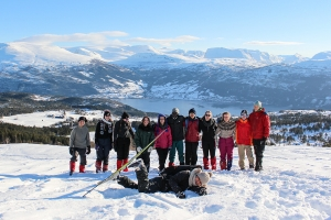 Friluftsveke - one of the ski groups