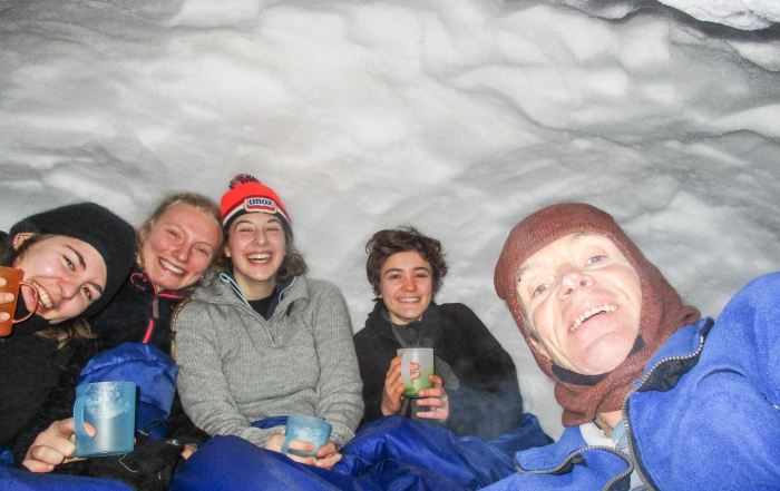 Neil Davis Memorial PBL - in the snowcave