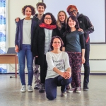 The organising group with Judit Dudas