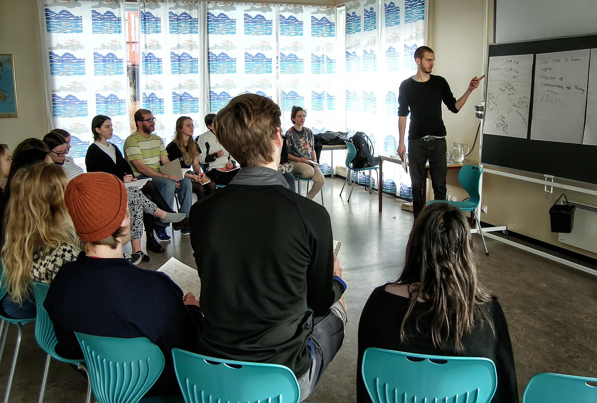 Lauge and workshop participants