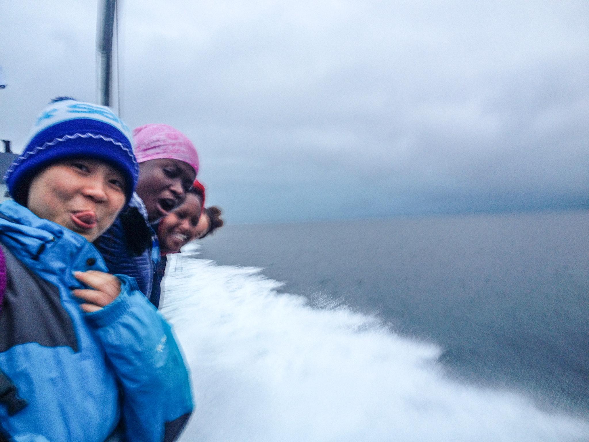 On the boat to Svanøy