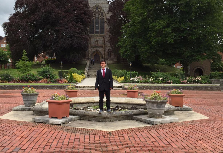 Elias at Marlborough College