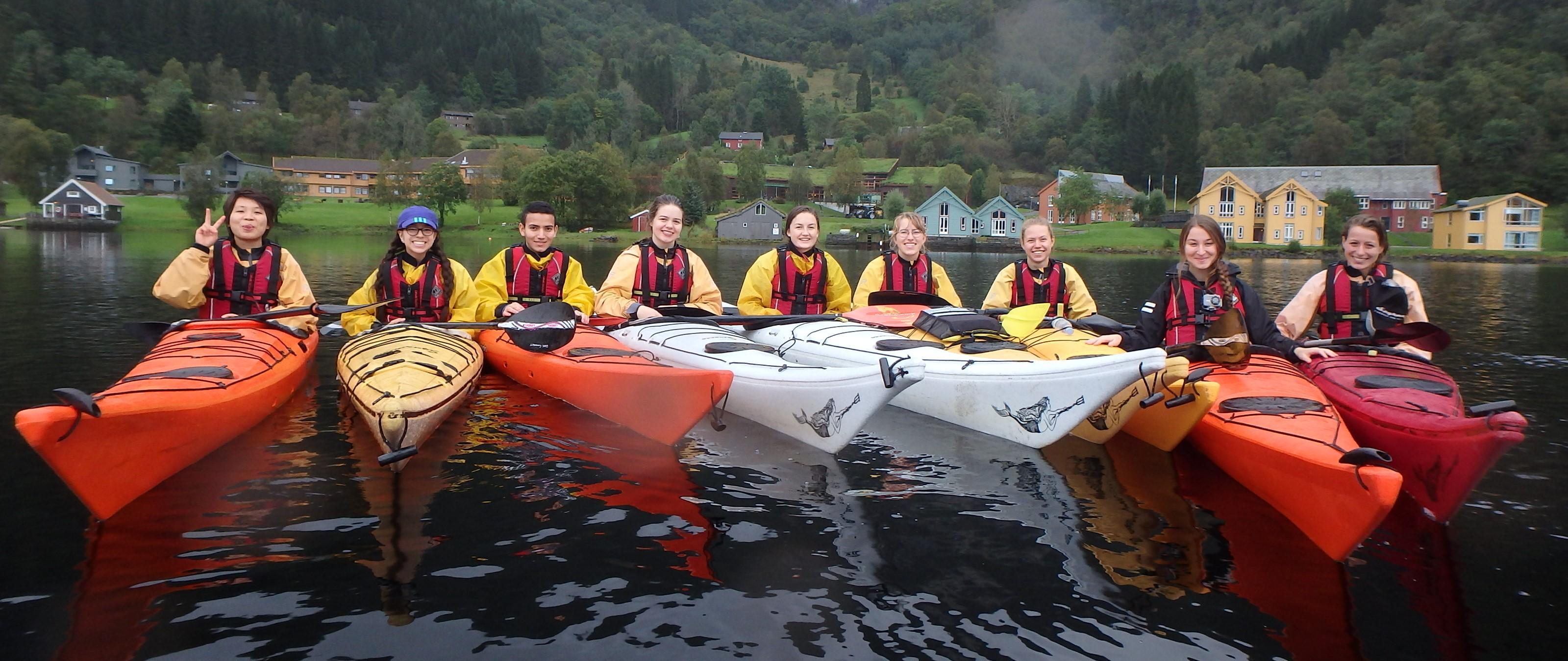 New Kayak Leaders