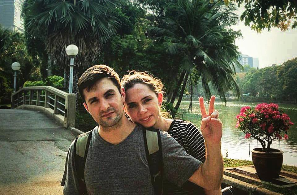 Ezequiel Jimenez and Kasia Dybek