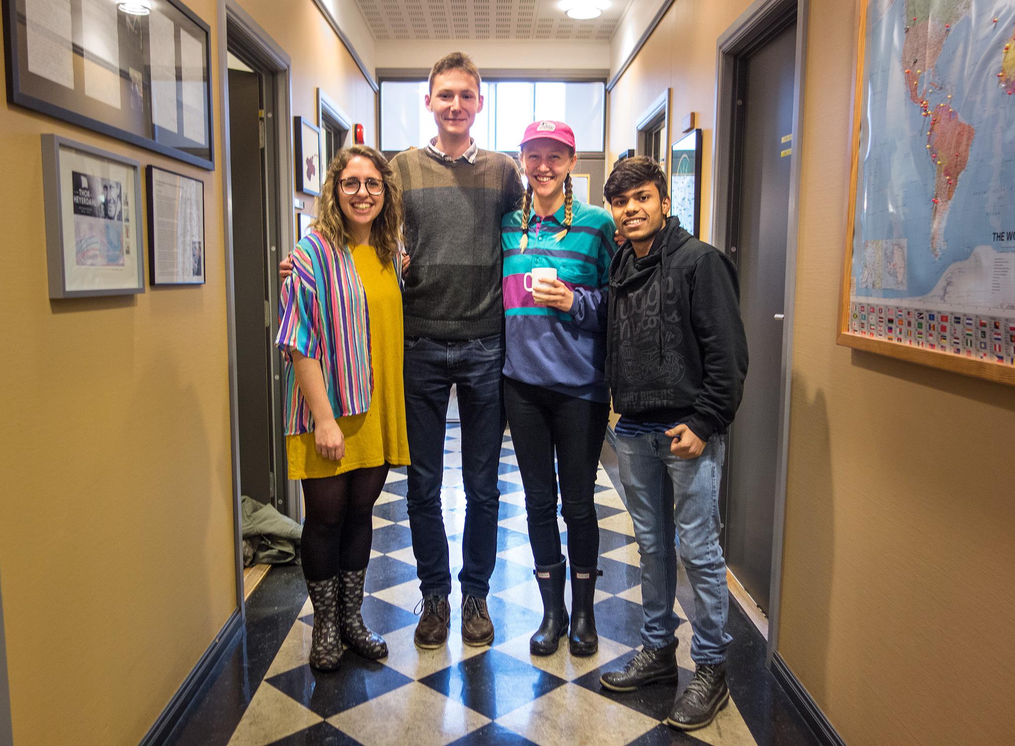 Flor, Nikita, Johanne and Ravi