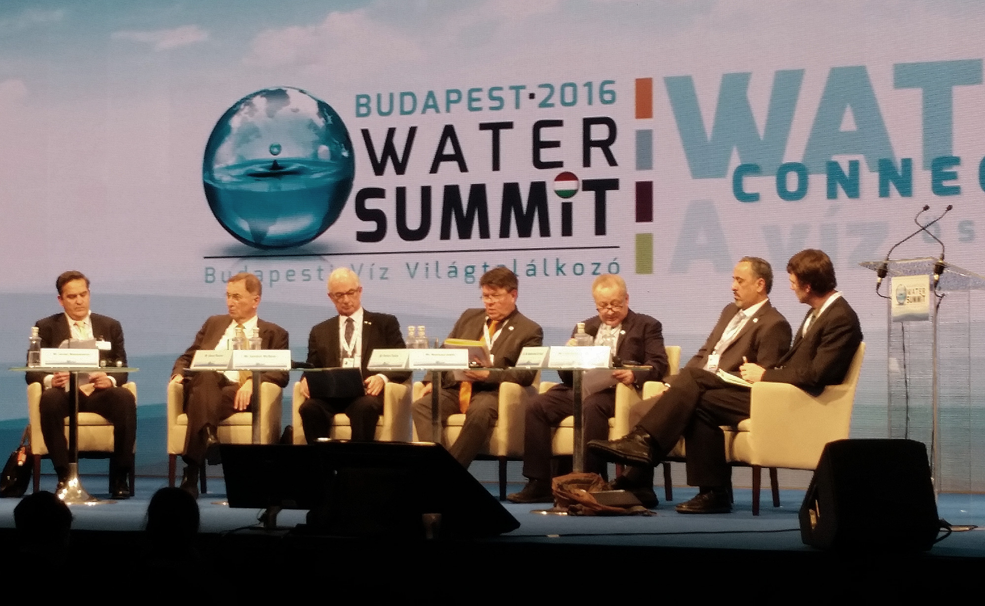 The Budapest Water Conference