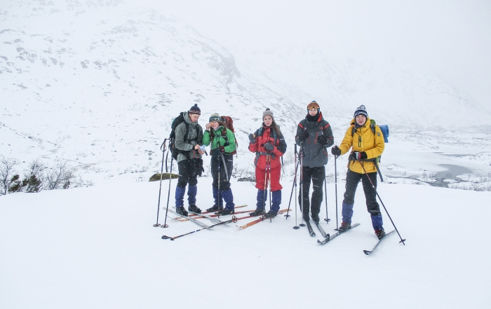Nik, Faith, Asta, Robin and Nikita