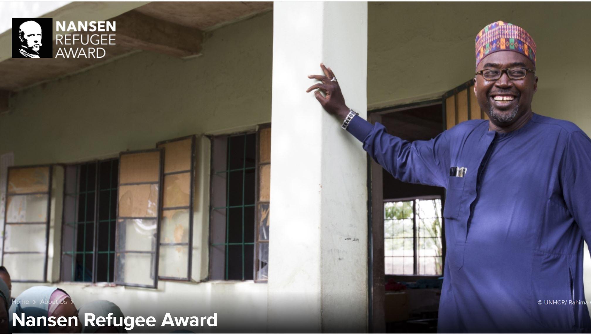 Nansen Prize Winner - Zannah Mustapha