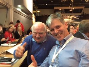 Arne Osland and Odd Grann