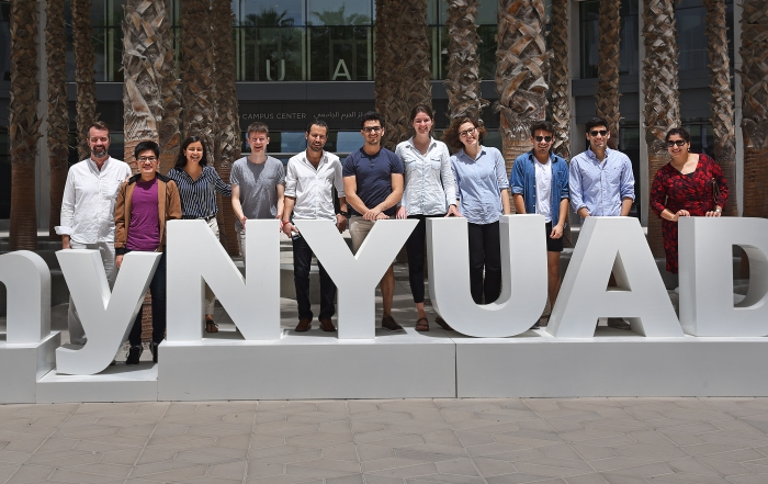 New Rektor visiting NYUAD