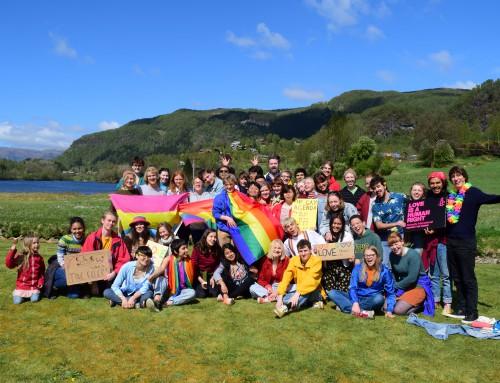LGBTQ+ Pride Celebration
